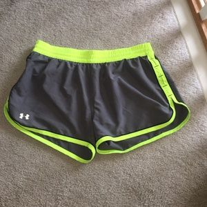 Under Armour Women's Athletic / Running Shorts